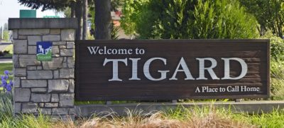 Welcome to Tigard, OR